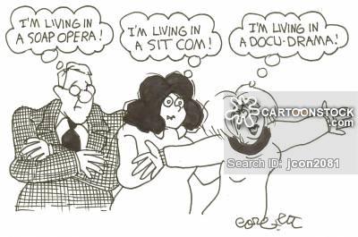 'I'm living in a soap opera!'